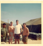Vietnam 1968... Norman Ohlde in the White t-shirt